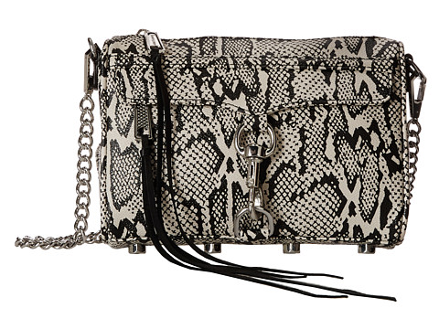 Rebecca Minkoff - Mini Mac (Snake Print) Cross Body Handbags