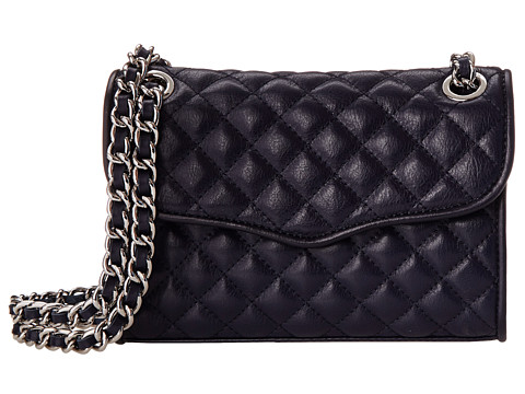 Rebecca Minkoff - Quilted Mini Affair (Midnight) Cross Body Handbags