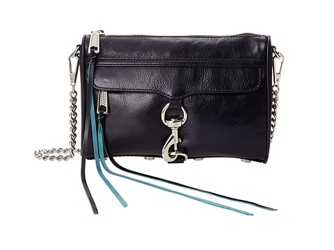 Rebecca Minkoff - Mini Mac (Midnight) Cross Body Handbags