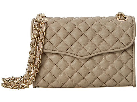 Rebecca Minkoff - Quilted Mini Affair (Khaki) Cross Body Handbags
