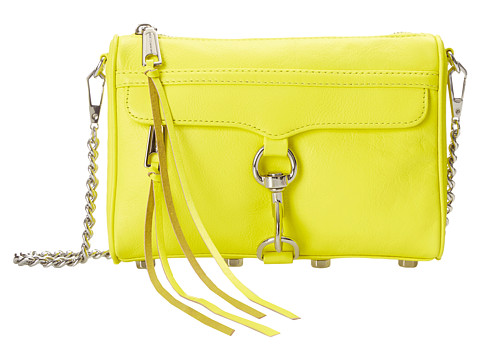 Rebecca Minkoff - Mini Mac (Electric Yellow) Cross Body Handbags