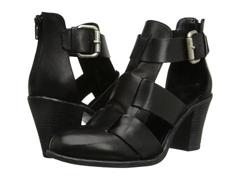 Summit White Mountain - Brinley (Black Leather) High Heels