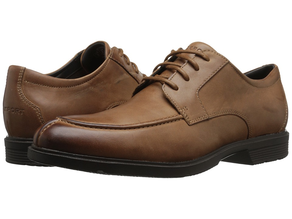 Rockport - City Smart Algonquin (Dark Tan) Men's Shoes