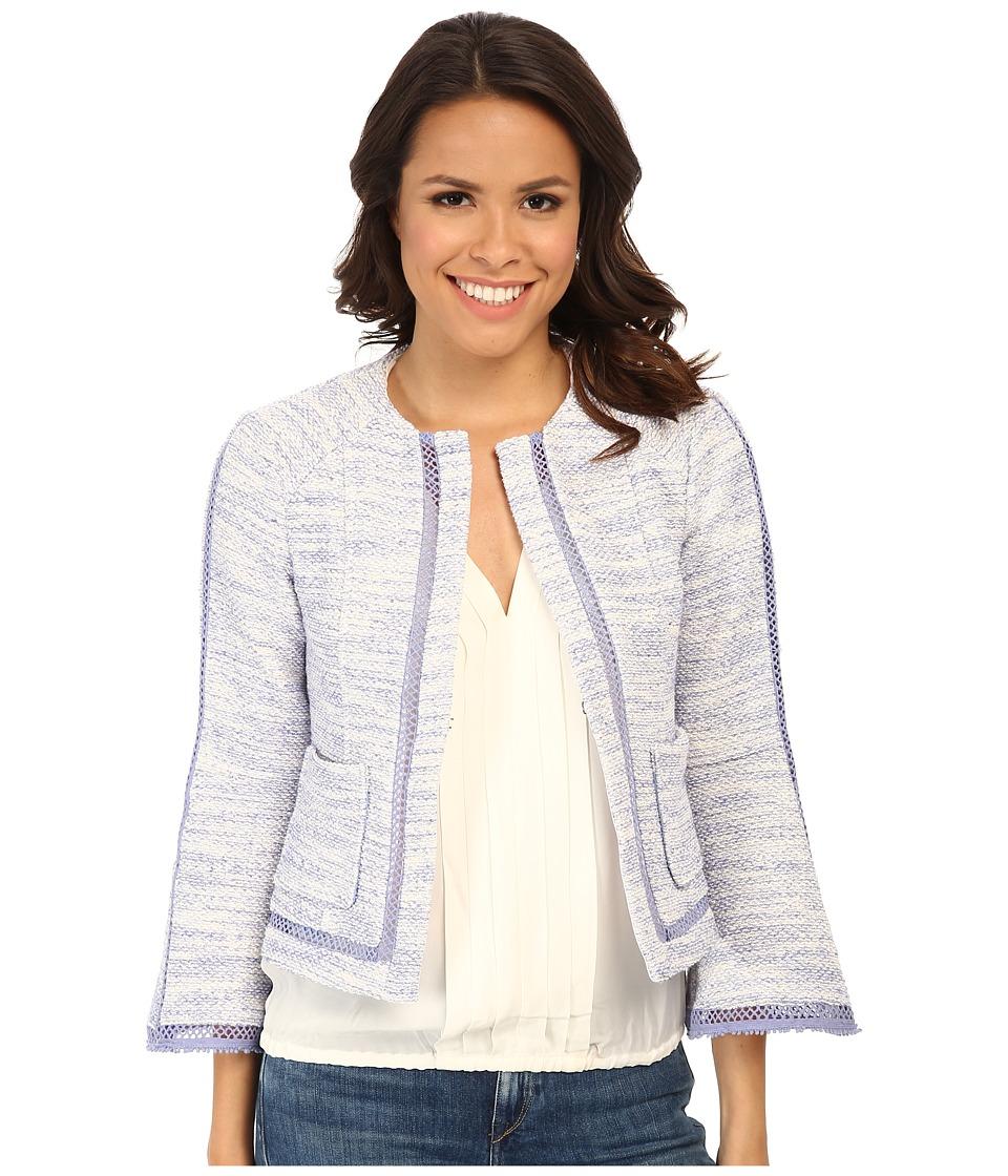 Nanette Lepore - Graphic Jacket (Perwinkle) Women's Coat