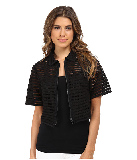 Nanette Lepore - Barely There Jacket (Black) Women