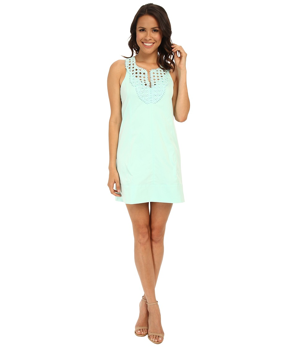 Nanette Lepore - Jungle Sheath (Aqua) Women's Dress