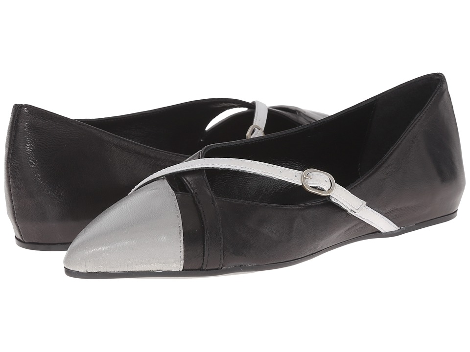 Summit White Mountain - Gavra (Grey Multi Leather) Women's Flat Shoes