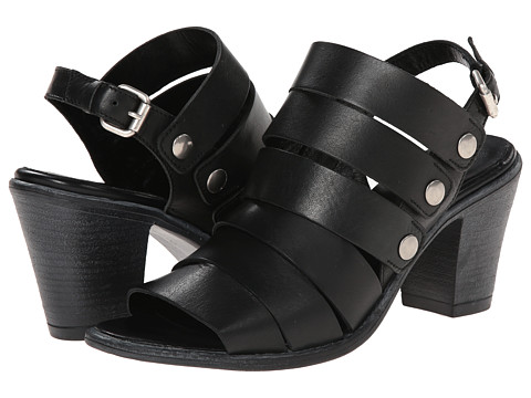 Summit White Mountain - Carina (Black Leather) High Heels