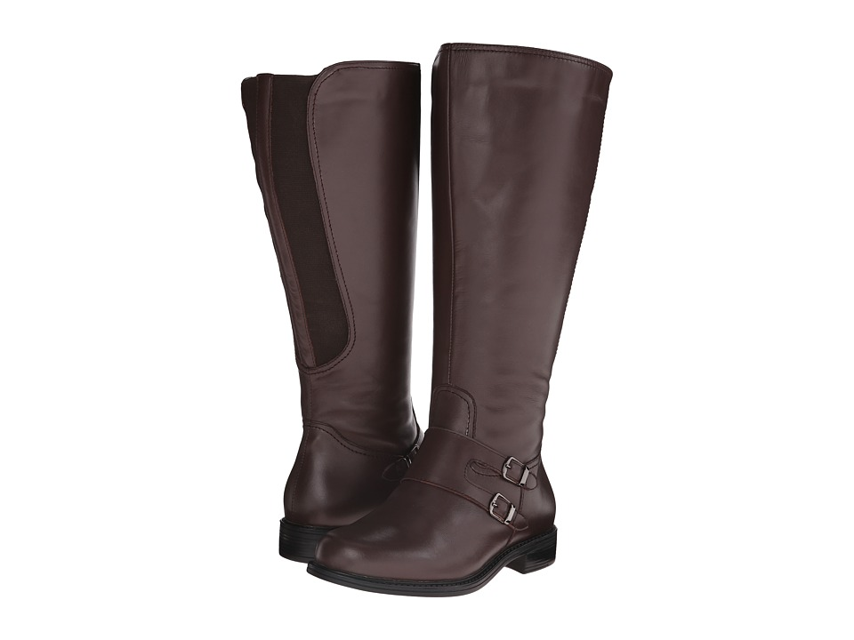 David Tate Highland Wide Shaft (Brown Soft Calf) Women
