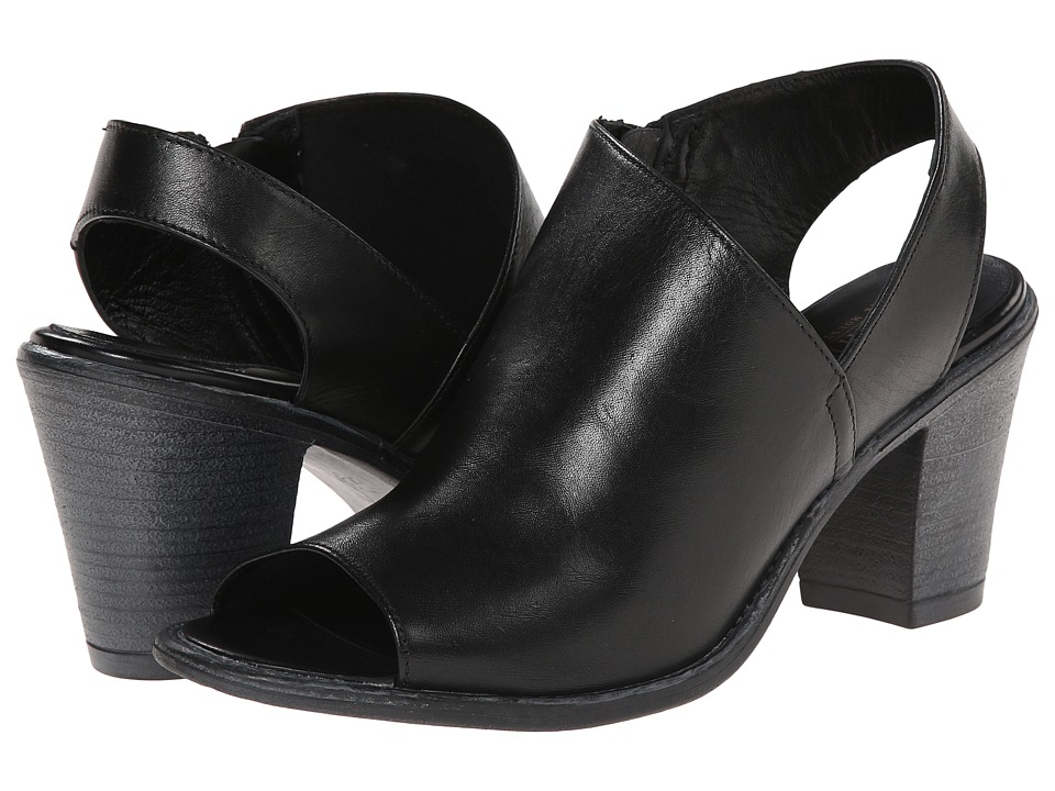 Summit White Mountain - Celinda (Black Leather) High Heels