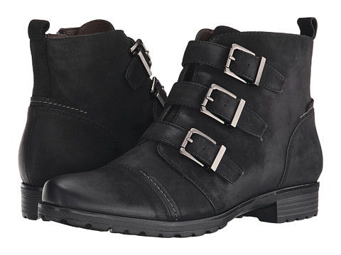 Earth - Carlow Earthies (Black Vintage Leather) Women's Boots