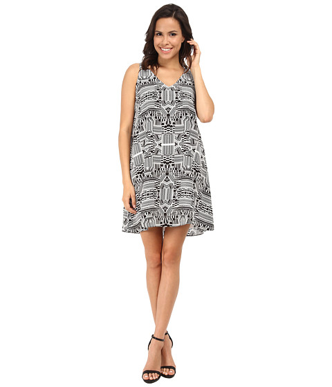 Nanette Lepore - Drive You Wild Dress (White) Women