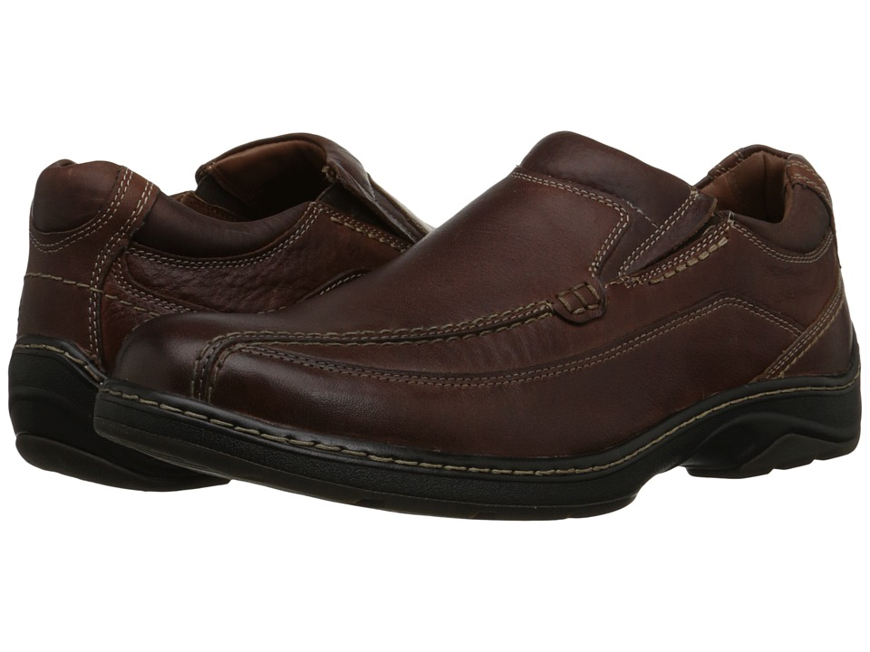 Johnston & Murphy Fairfield Runoff Venetian (Mahogany Waterproof Full Grain) Men