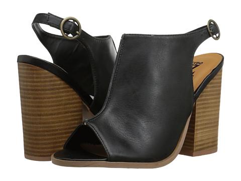 Type Z - Kainoa (Black) Women's Sling Back Shoes