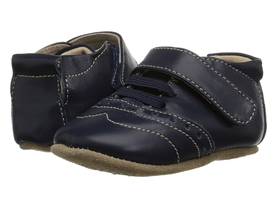 Livie & Luca - Flint (Infant) (Navy) Boy's Shoes