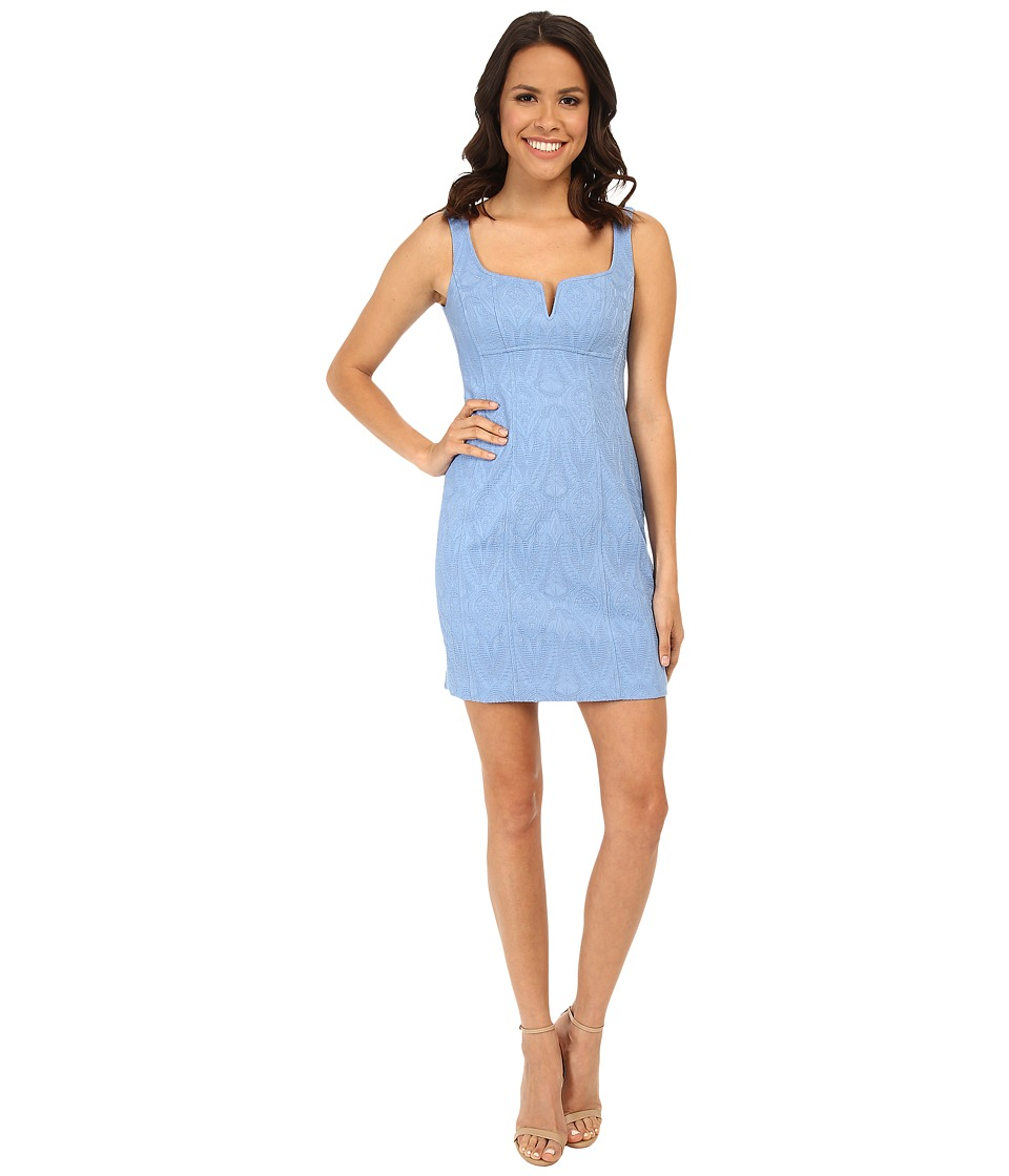 Nanette Lepore Cool-Down Dress (Periwinkle) Women