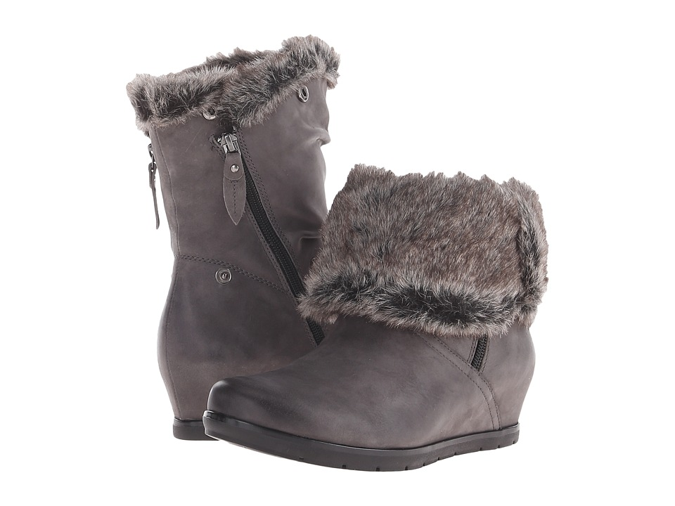 Earth Gelderland Earthies (Dark Grey Vintage Leather) Women