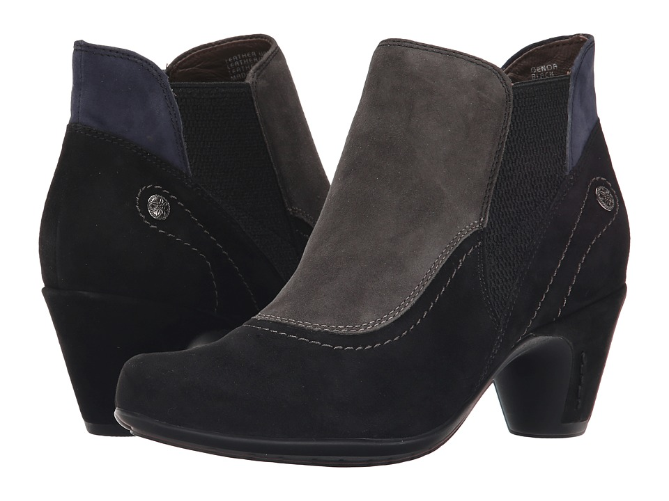Earth Genoa Earthies (Black Suede) Women