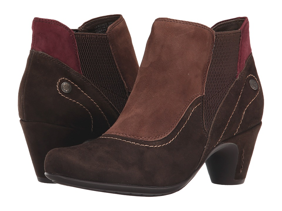 Earth - Genoa Earthies (Dark Brown Suede) Women's Boots