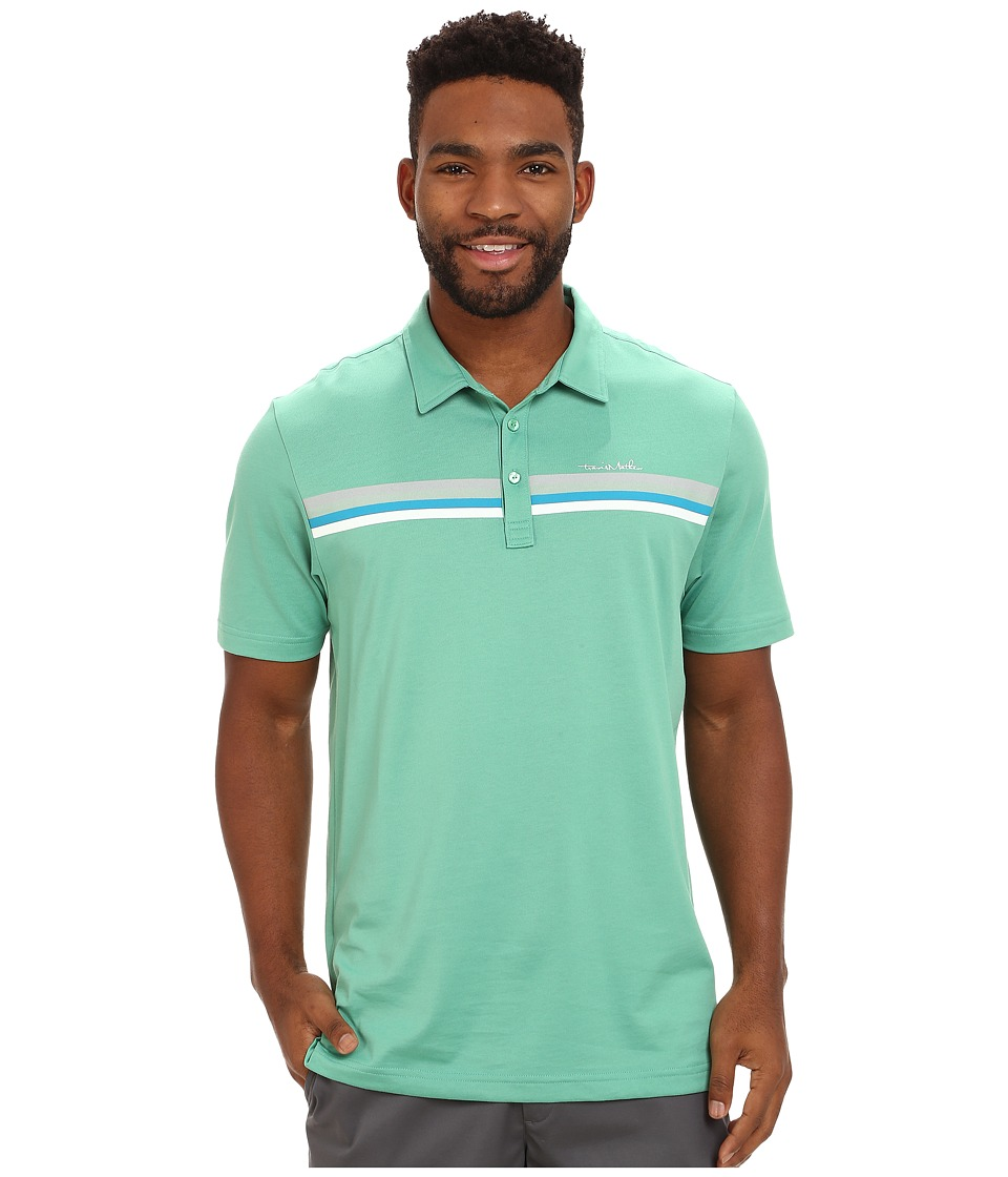 TravisMathew - 3 Arch (Green Spruce) Men's Clothing
