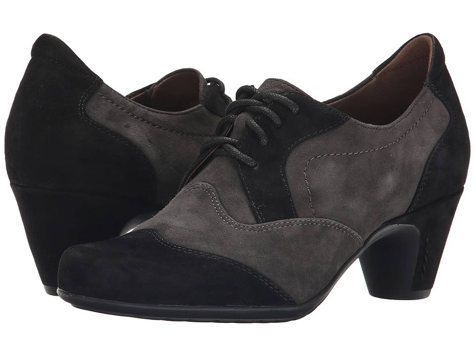 Earth - Milan Earthies (Black Suede) Women's Shoes