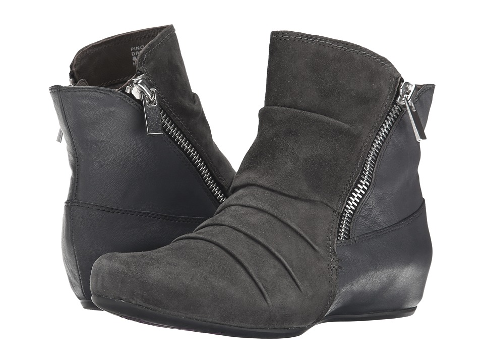 Earth - Pino Earthies (Dark Grey Suede) Women's Boots
