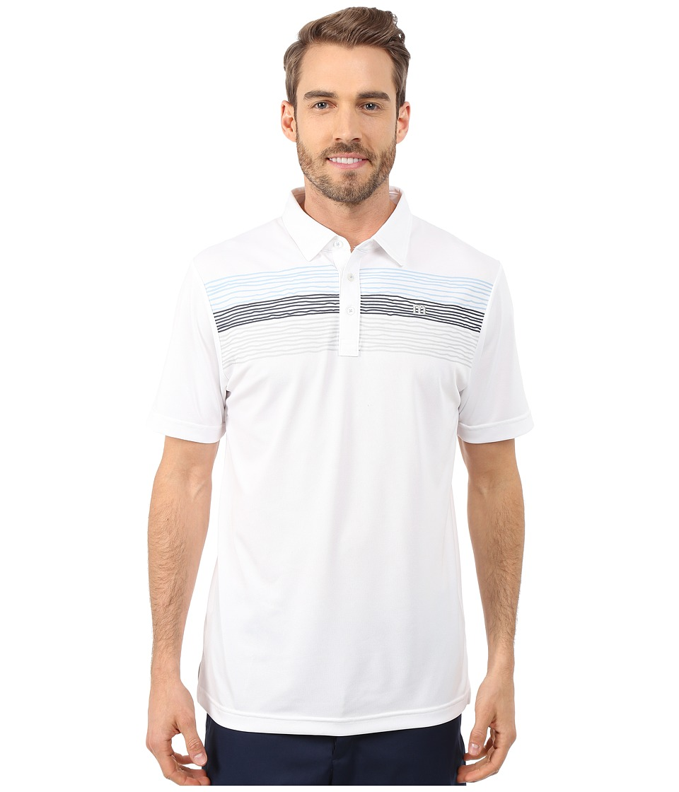 TravisMathew - Point Dume (White) Men's Short Sleeve Knit