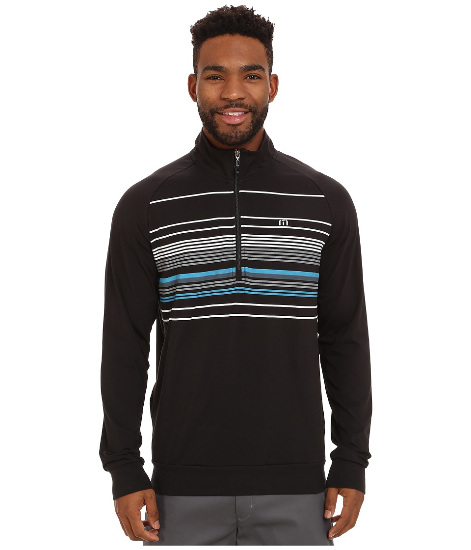 TravisMathew - Comet (Black) Men's Clothing