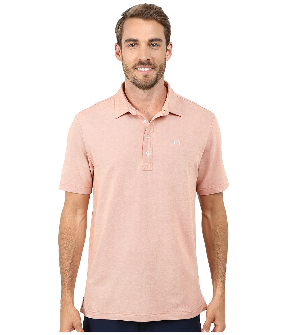 TravisMathew - Kruger (Persimmon) Men's Clothing