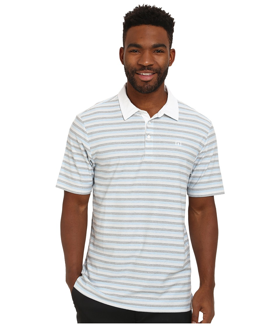 TravisMathew - Next Level (Heritage Blue) Men's Short Sleeve Pullover