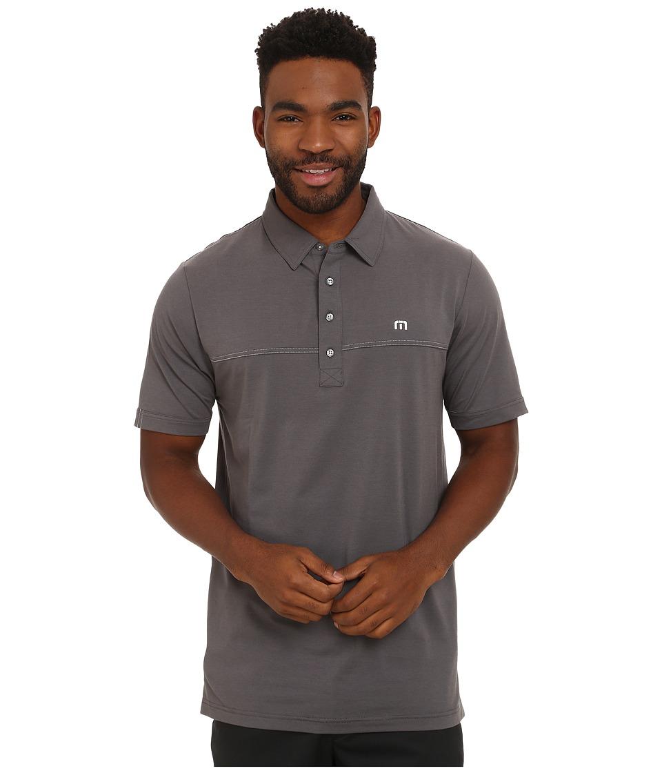 TravisMathew - Kreuzer (Castlerock) Men's Short Sleeve Pullover