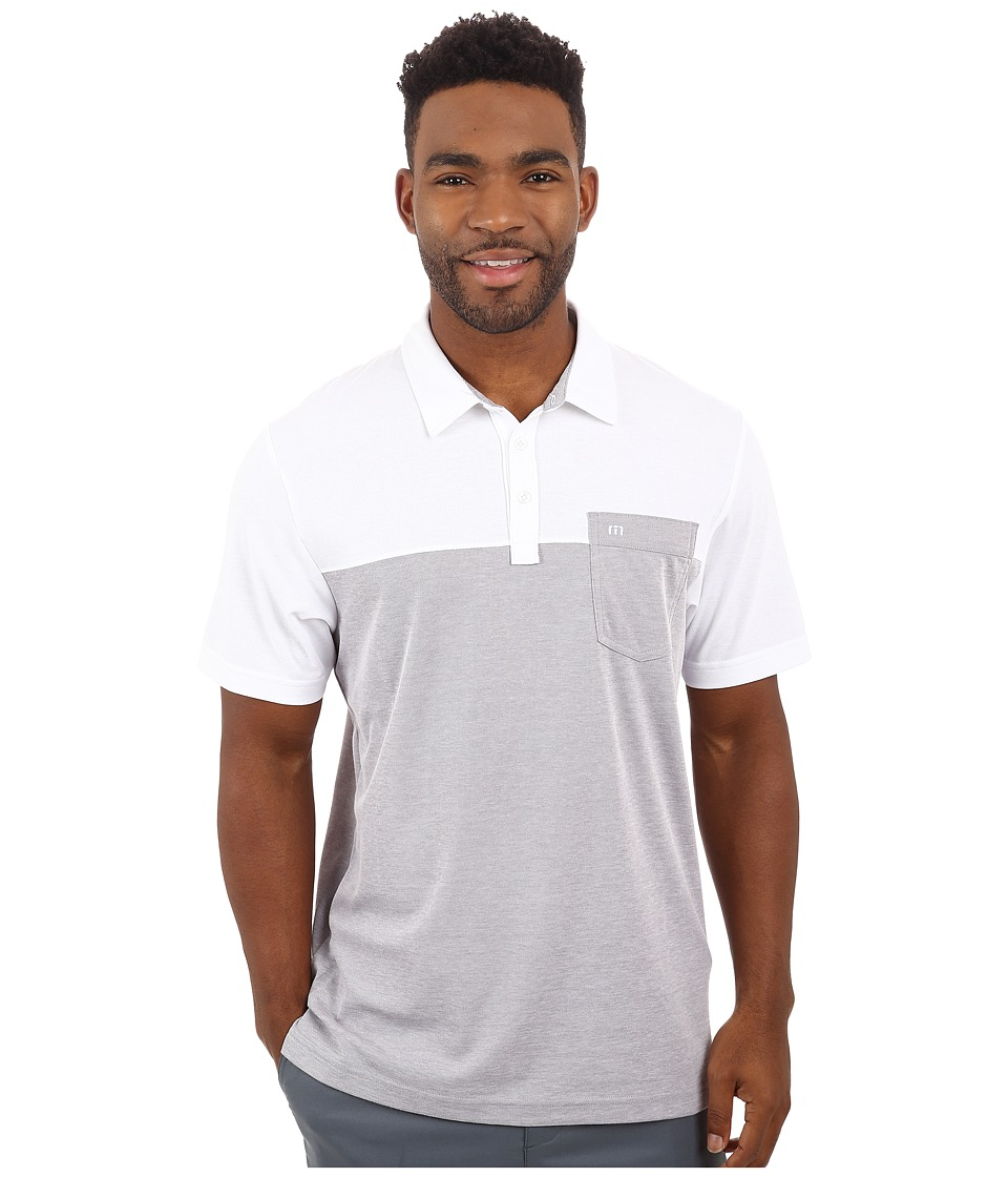 TravisMathew - Hollows (White) Men's Clothing