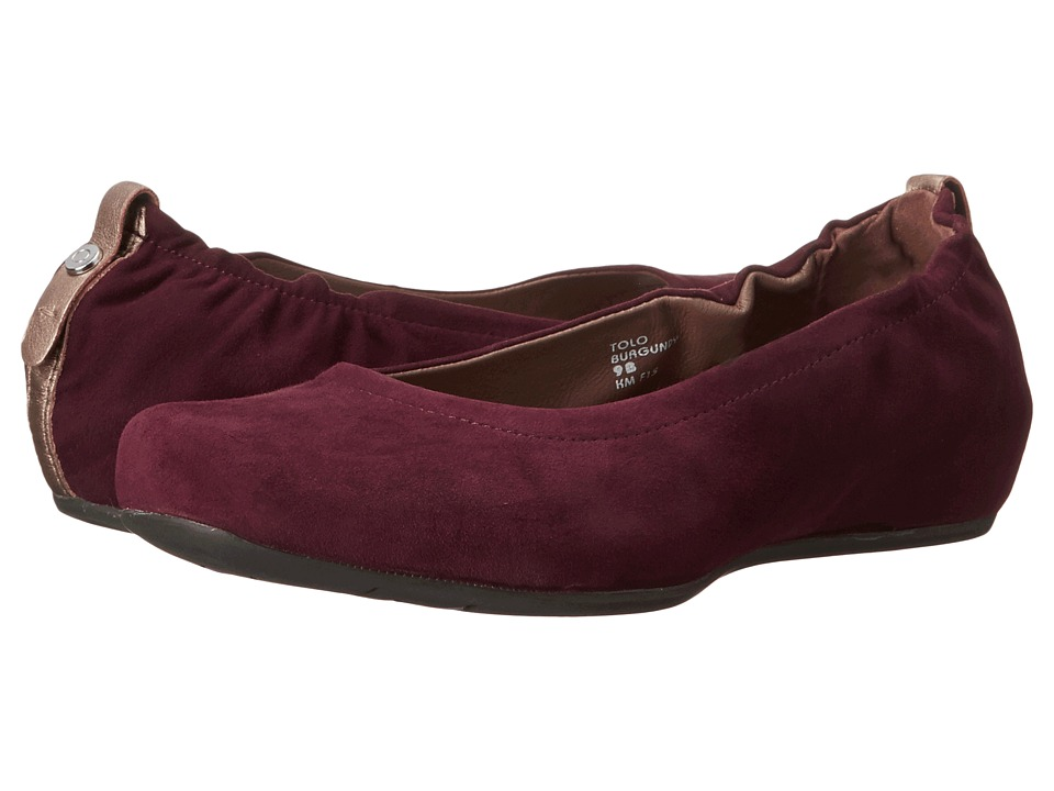 Earth - Tolo Earthies (Burgundy Suede) Women's Shoes