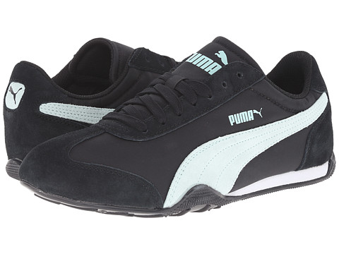 PUMA - 76 Runner Fun (Black/Fair Aqua) Women's Shoes