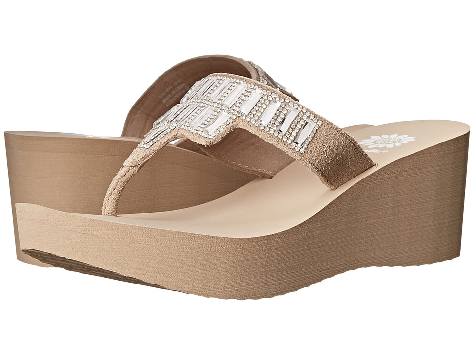 Yellow Box - Alexandria (Taupe) Women's Sandals