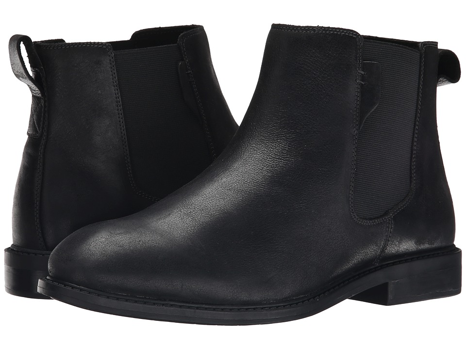 Dunham - Graham Chelsea (Black) Men's Pull-on Boots