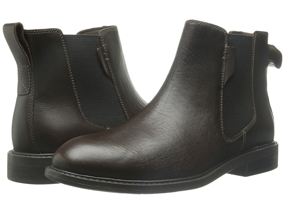 Dunham - Graham Chelsea (Chocolate) Men's Pull-on Boots