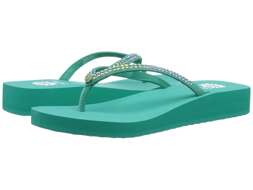 Yellow Box - Jello (Teal) Women's Sandals