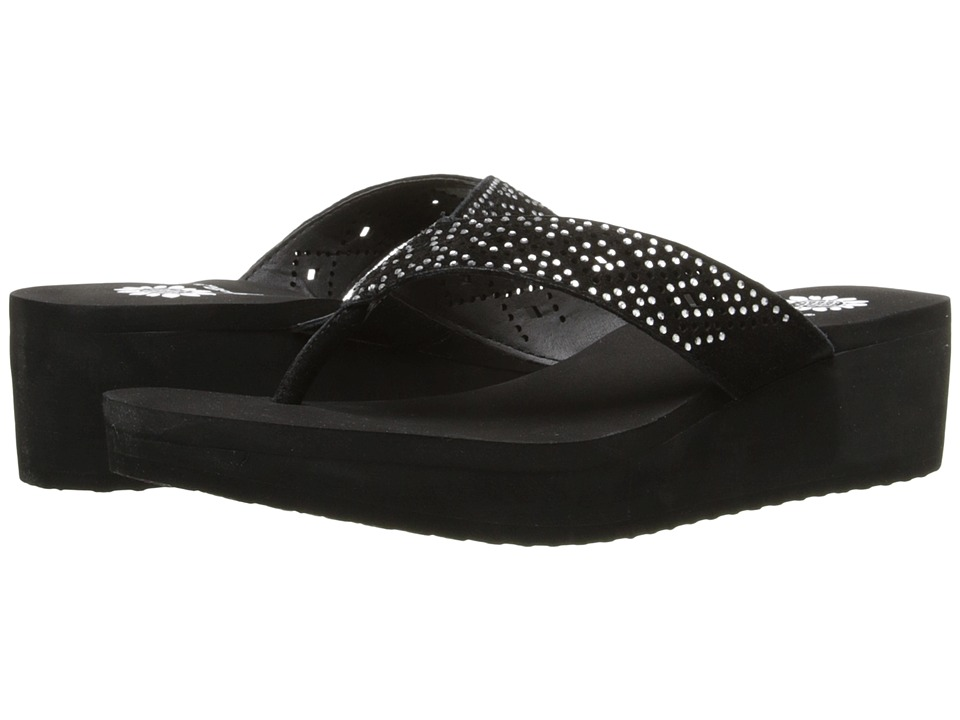 Yellow Box - Katz (Black) Women's Sandals