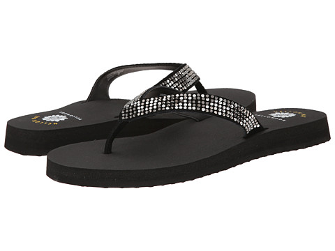Yellow Box - Brites (Black) Women's Sandals