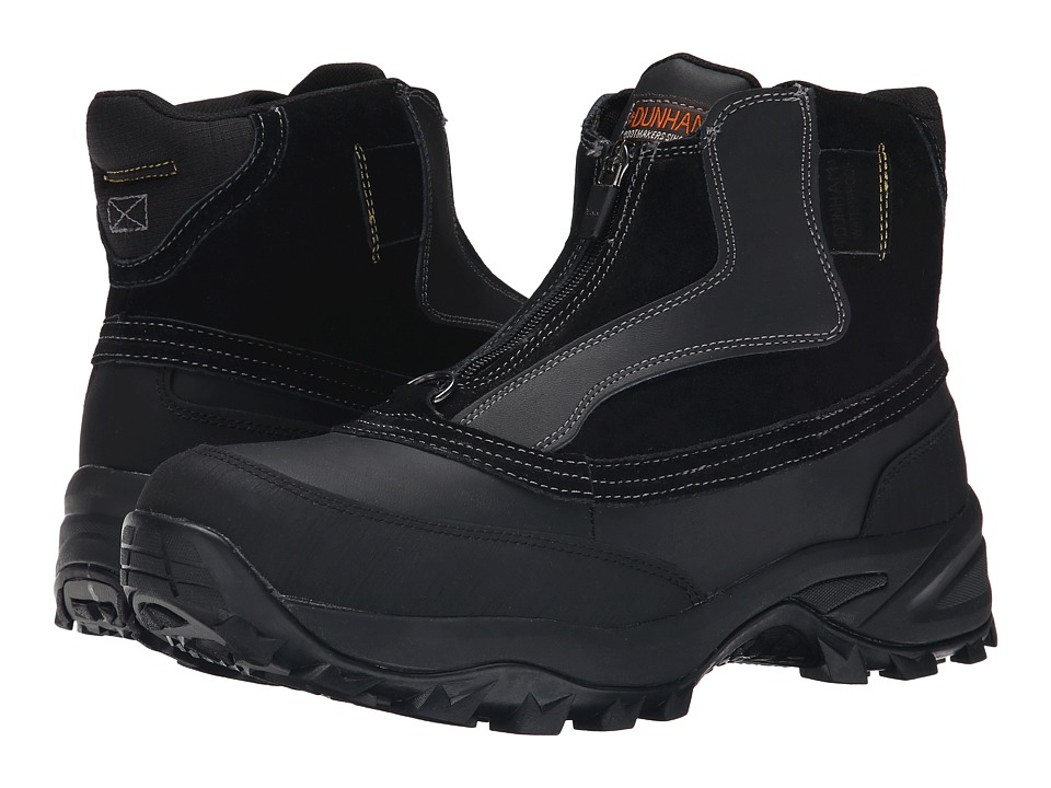 Dunham - Tony Zip (Black) Men's Boots