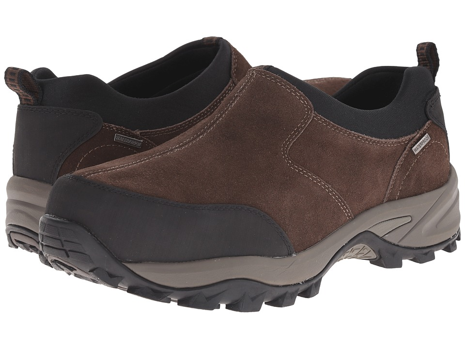 Dunham - Ted Slip-On (Brown) Men's Slip on Shoes
