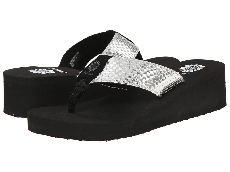 Yellow Box - Minka (Silver) Women's Sandals