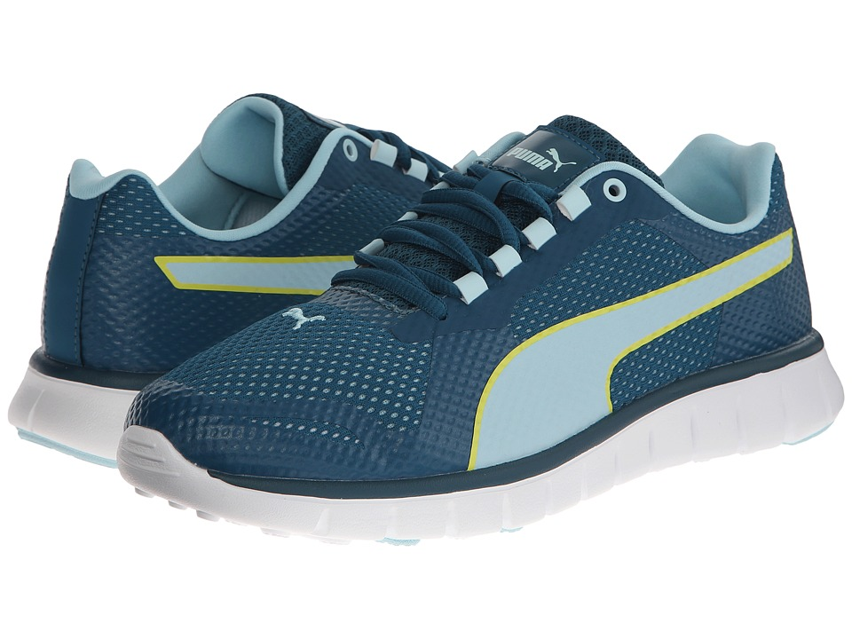 PUMA - Blur (Blue Coral/Clearwater/Sulphur Spring) Women's Shoes