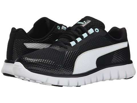 PUMA - Blur (Black/White/Clearwater) Women's Shoes