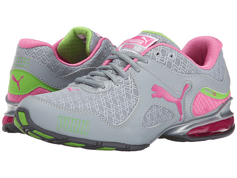 PUMA - Cell Riaze (Quarry/Carmine Rose/Jasmine Green) Women