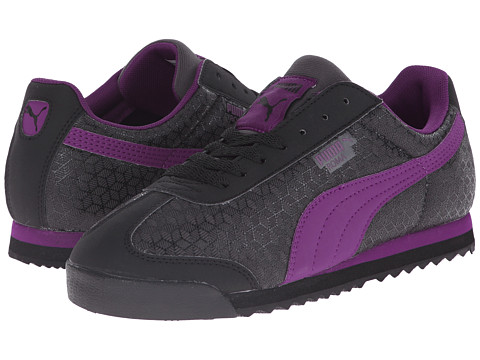 PUMA - Roma (Black/Grape Juice) Women's Classic Shoes