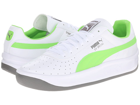 PUMA - GV Special (White/Jasmine Green/Steel Grey) Men