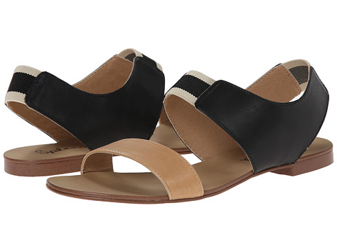 Splendid - Coldwater (Black Vintage Leather) Women's Sandals