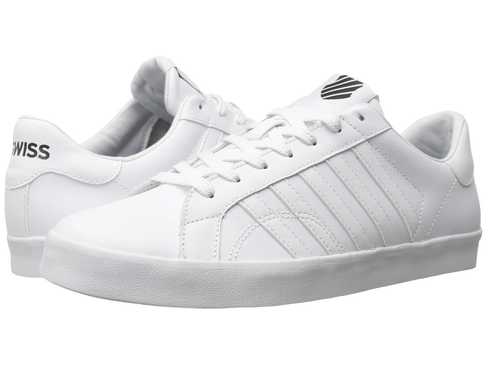 K-Swiss - Belmont So (White/Black) Men's Shoes